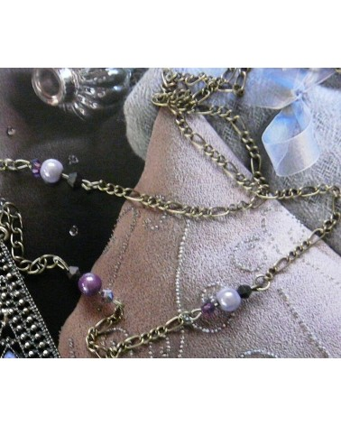 Perles magiques 8mm Violet 2 Lavande par 20 ou 100