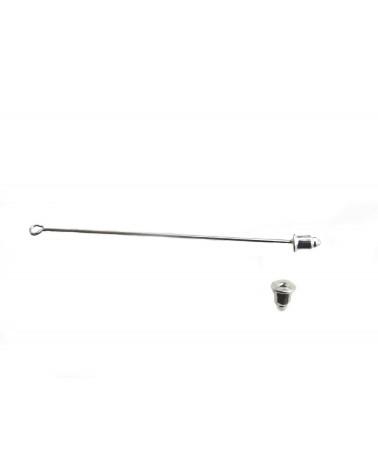 Fibule ou broche tige 1 anneau à personnaliser ARGENT 60mm X1