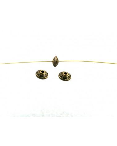 bicone métal bronze