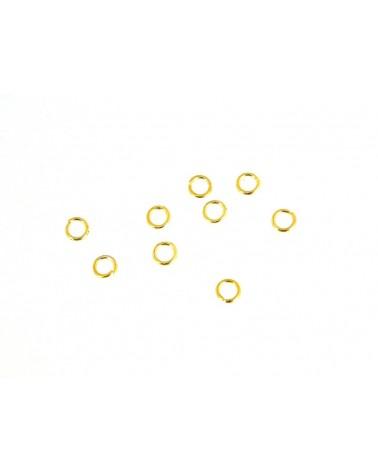 ANNEAUX OUVERTS DORE 5 x 0.7mm X 100