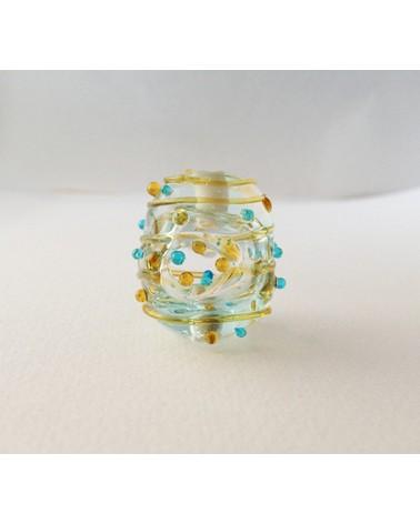 Audrey SeR: Perle en verre de Murano n° 15 - 25x23 mm