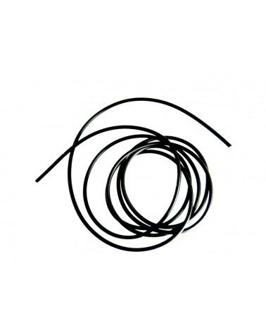 Cordon caoutchouc synthétique plein 3mm x 1mètres ou par 2 mètres continus