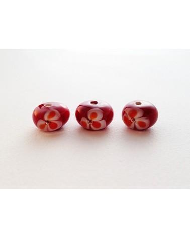 Audrey SeR: Perle en verre de Murano n° 3 - 8x13 mm