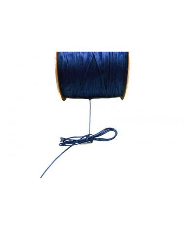 Fil nylon tressé 1mm BLEU marinex 3 Mètres