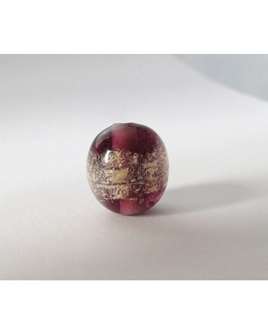 Audrey SeR: Perle en verre de Murano n° 14 - 17x16 mm