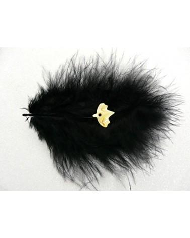 oiseau-nacre-jaune-13x14mm  x 2