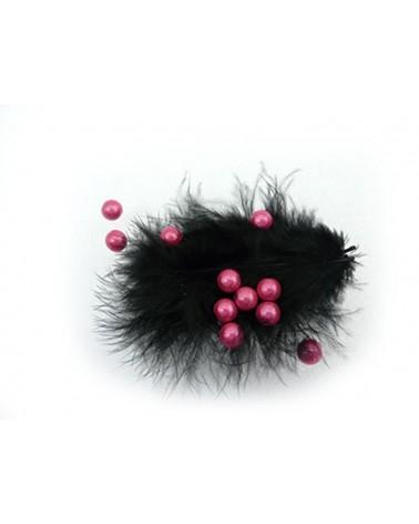 100-Perles-magiques-8mm rose-fuschia