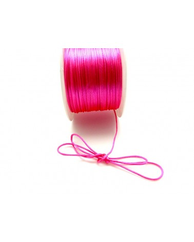 Queue de rat 1.2mm rose fuchsia x 2.5 mètres
