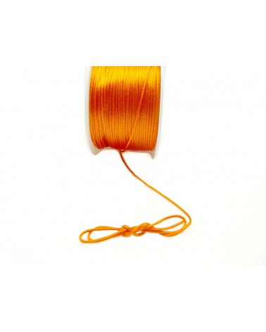 Queue de rat 1.2mm orange x 2.5 mètres