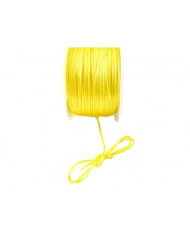 Queue de rat 1.2mm jaune citronx 2.5 mètres