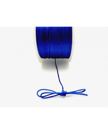 Queue de rat 1.2mm bleu outremer x 2.5 mètres