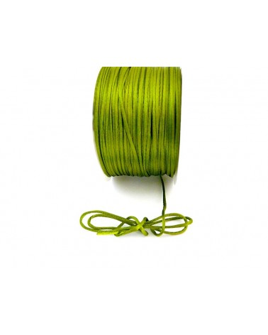 Queue de rat 1.2mm vert anis x 2.5 mètres