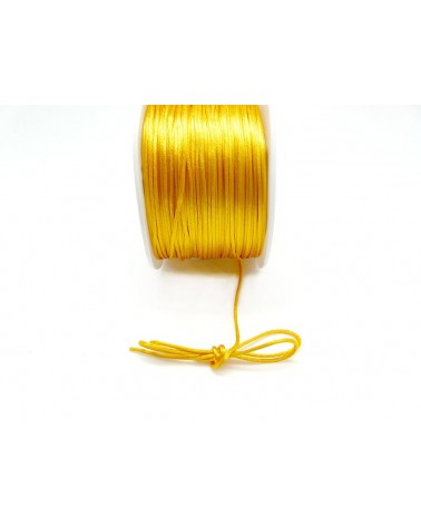 Queue de rat 1.2mm jaune d'or x 2.5 mètres