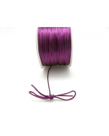 Queue de rat 1.2mm violet mauve x 2.5 mètres