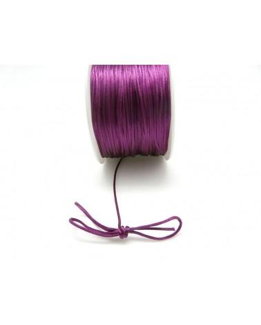 Queue de rat 1.2mm violet mauve  x 2.5 mètres