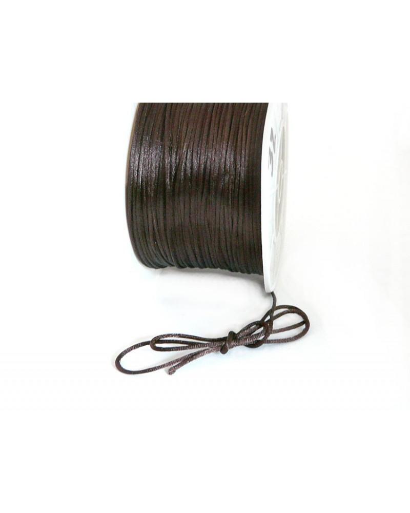 Queue de rat 1.2mm marron brun x 2.5 mètres