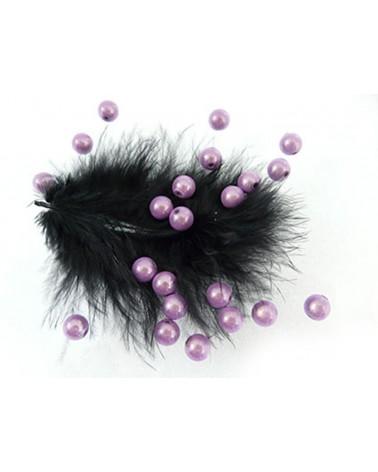 100-Perles magiques 8mm violet 1-lilas