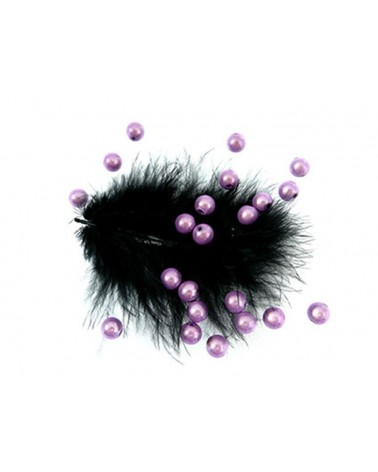 100 Perles magiques 8mm violet 2 Lavande