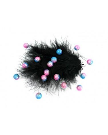 100-Perles-magiques-8mm-bicolore-beu-rose