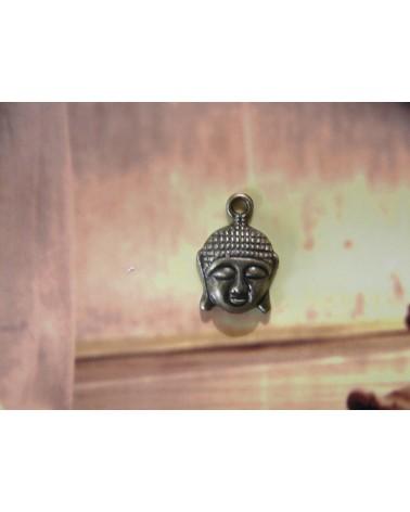Breloque Bouddha 20x15mm bronze x1