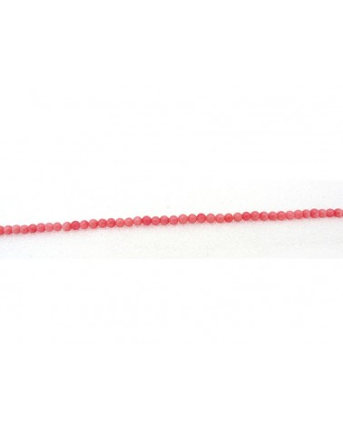 corail rose 3mm x 72 perles