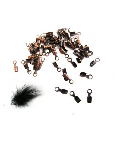 Pince lacet cuivre pour fil jusqu'à 1mm x 10