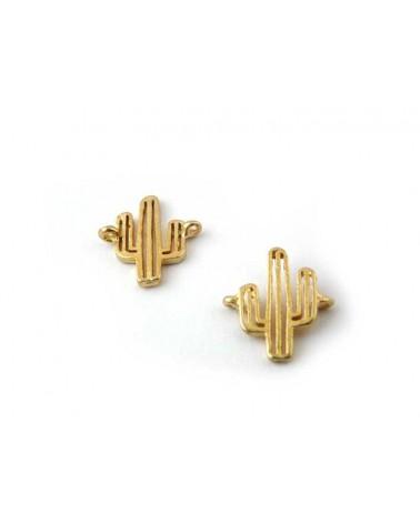 Cactus Intercalaire connecteur doré  x 1