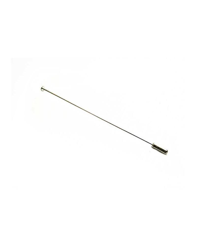 Fibule broche10cmm à plateau 4mm X1 ou par 10