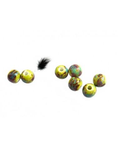 céramique 6mm jaune apache par 15
