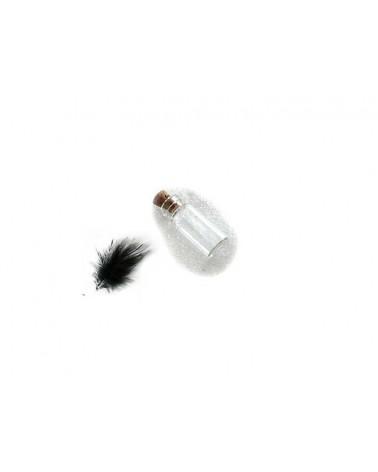 Flacon miniature en verre à suspendre CARAFE 29x19x10mm
