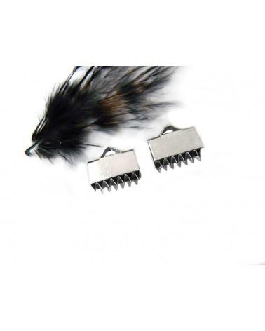 Embout à serrer 10mm acier inoxydable X 4