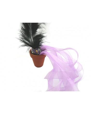 Ruban organza 10mm violet clair  X 3 M