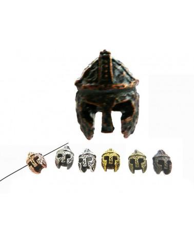 Heaume de chevalier 14X10mm cuivre