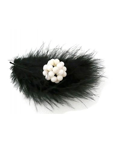 Perle cluster 17 - 20mm  en corail Blanc x 1