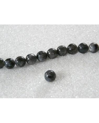 Labradorite naturelle 6mm gris X15