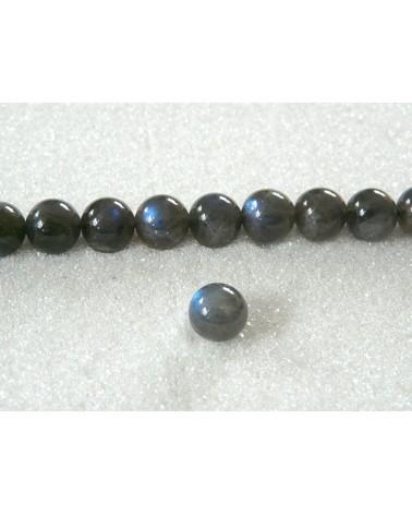 Labradorite naturelle 8mm gradée AA X 5 perles