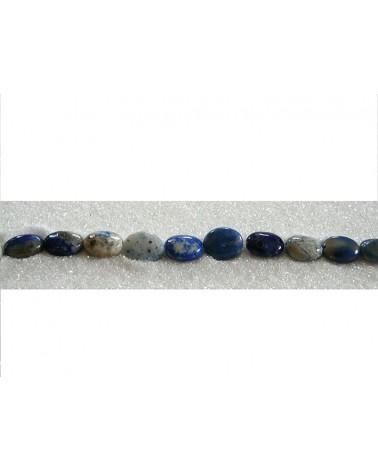 lapis lazuli ovale 10x8mm X 4