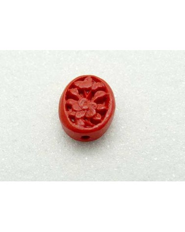 Ovale-cinabre-rouge-18x14mm X1 P12-1