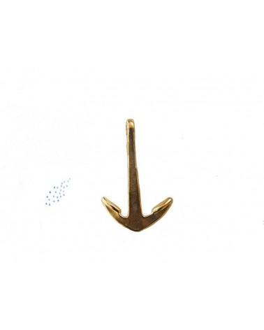 Ancre de marine 35mm doré X 1