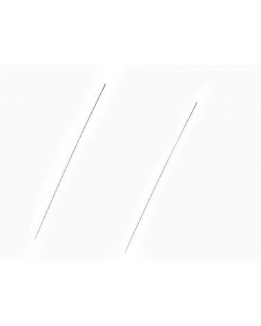 Aiguille longue à perler 120mm X 2