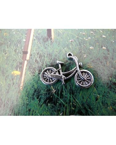 Breloque moto harley argenté X 1