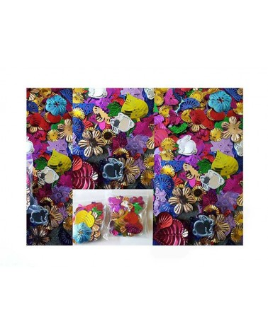 Sequins paillettes motifs X 1assortiment