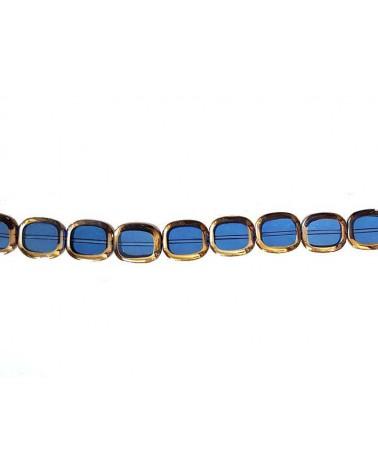 rectangle vitrail bleu