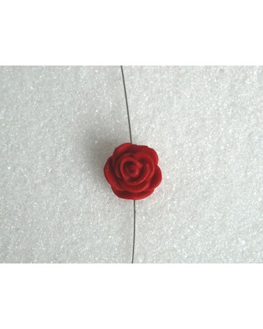 Fleur-imitation-Cinabre-Rouge-12mm X 1-P24-12mm