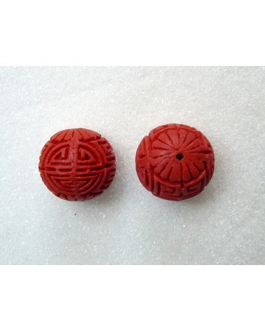 Grosse-perle-24mm-imitation-cinabre-rouge
