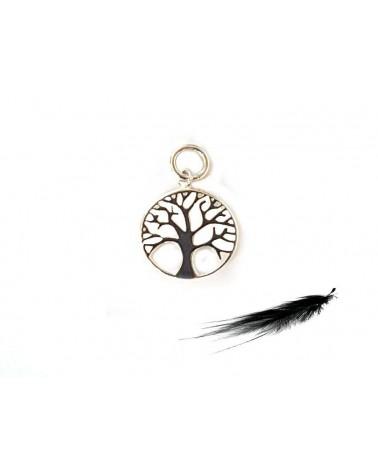 Pendentif arbre de vie 12mm argent 925