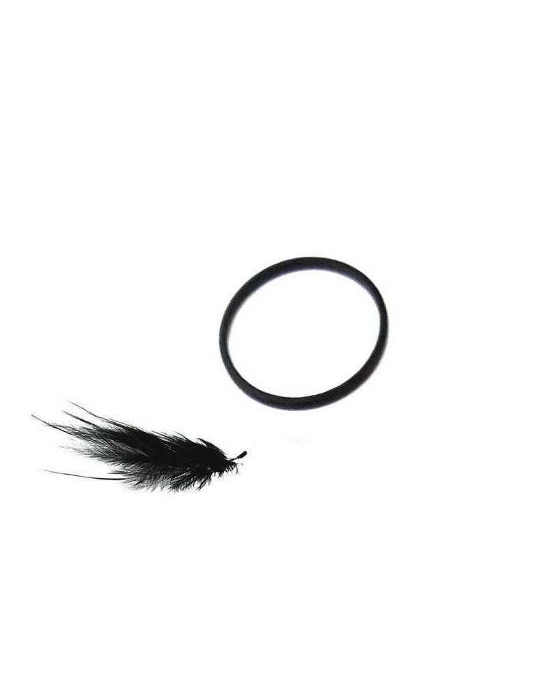 Anneau 15mm noir x 1