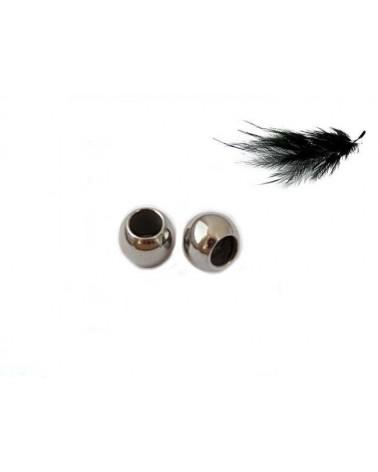 Boule 3x2mm acier inox