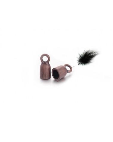 Cloche 17x8mm cuivre X 1