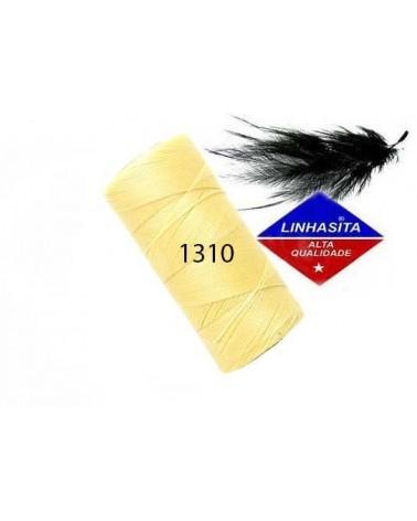 Fil ciré 0.5MM Linhasita Cream (1310) X 5M